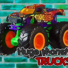 Huge Monster Trucks